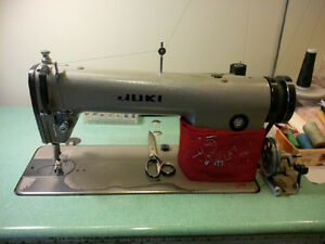 JUKI INDUSTRIAL SEWING MACHINE & MARROW SEWING SERGER