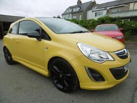 2012 Vauxhall Corsa 1.2 Limited Edition 3dr 3 door Hatchback