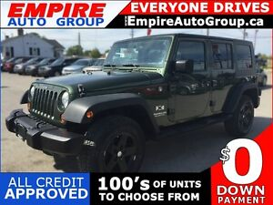2007 JEEP WRANGLER UNLIMITED X *4WD * POWER GROUP * MINT CONDITI