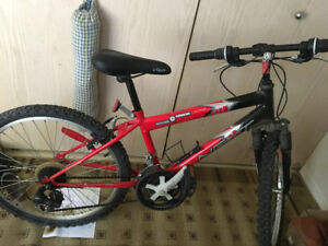 Barely used red next bike. 75.00$ or best offer