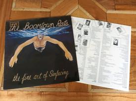 Boomtown rats vinyl album.