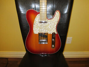 American Deluxe series Telecaster and Zoom G1on