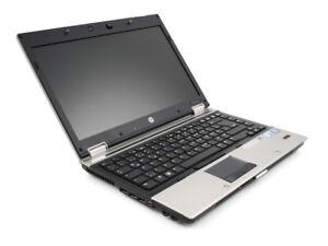 HP EliteBook i5 Laptop 4 GB Ram, 250 GB HDD, Windows 7
