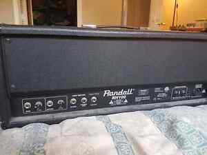 Randall RH100 100 watt amp head