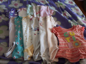 Baby girl clothes size newborn