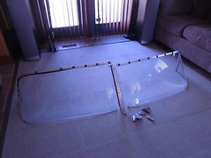 Antique Glass Boat Windshield