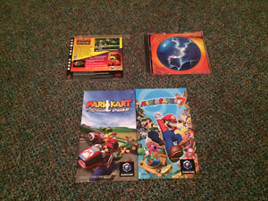 Video Game Manuals