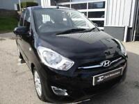 2012 Hyundai i10 1.2 Active 5dr Petrol black Manual
