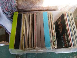 Records for sale, assorted artists, $1 each