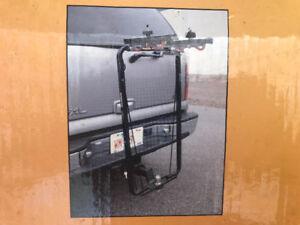 Trailer friendly bicycle rack ...DuraSafe Hitch Biker