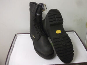 BOOTS, NEW ARMY-TYPE LEATHER COMBAT BOOTS Sz 12.5