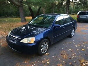 2003 honda civic , excellent condition , no rust
