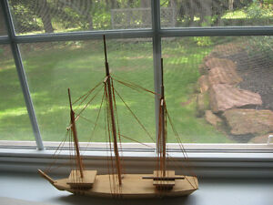 Sailing ship, Island made