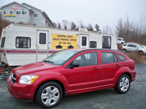 ONLY $45 WEEKLY FOR 2009 Caliber SXT NEW MVI, LOW MILEAGE