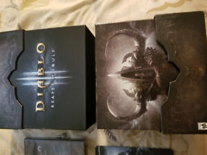Diablo 3 Reaper of Souls, collector's edition.