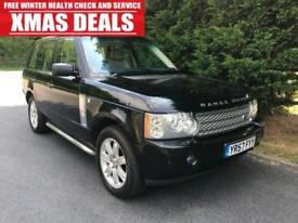 2007 (57) LAND ROVER RANGE ROVER 3.6 TDV8 VOGUE AUTOMATIC 4X4 TURBO DIESEL