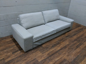 Ikea Kivik 3-seater Sofa in light grey. FREE DELIVERY