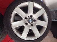 BMW E46 alloy wheels