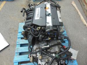 Moteur 2.4L K24A Honda CR-V 2002-2006 avec installation