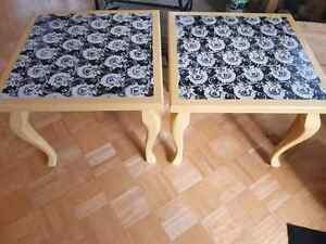 Side tables/nightstands