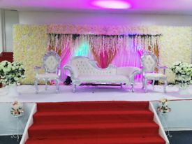 Wedding and mehndi stages hire from £250
