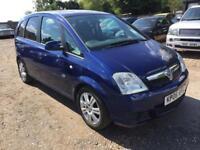 2006 Vauxhall Meriva 1.4 i 16v Active MPV 5dr Petrol Manual (a/c) (154