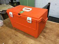 Retro First Aid Ambulance Box - Tool Box/Craft Storage