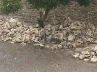 Stone, hardcore and rubble