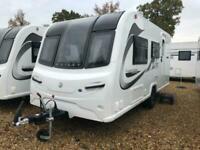 New 2020 Bailey Unicorn Black Edition Merida 2 Berth Caravan, Rear Washroom