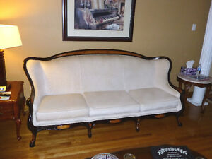 Classic Couch and Love Seat