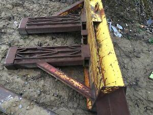Dozer Plow for forklift