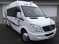 2008 08 Mercedes-Benz SPRINTER 313 CDI LWB RACEVAN MOTORCROSS 4 BERTH FULL CON