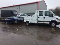 Scrap cars and vans always wanted FAST FREE SAME DAY COLLECTION