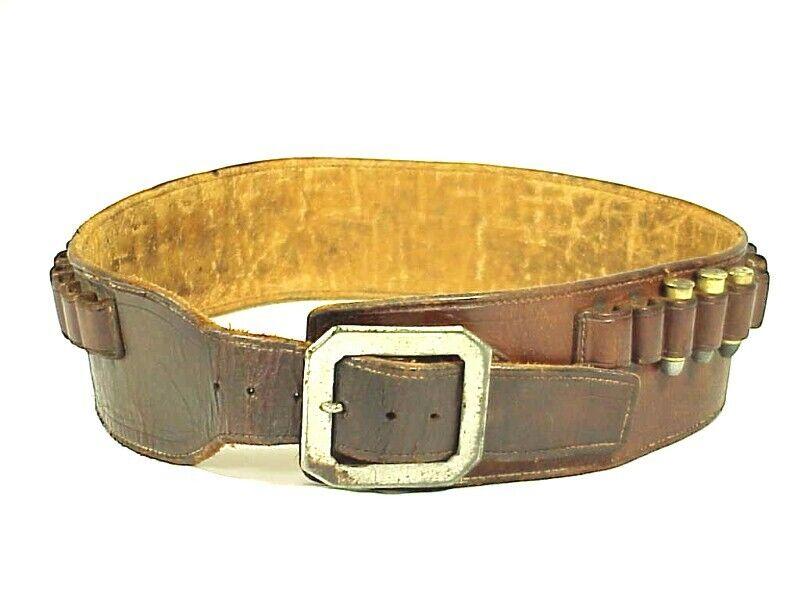Antique .44-40 Cal. WINCHESTER COWBOY CARTRIDGE BELT