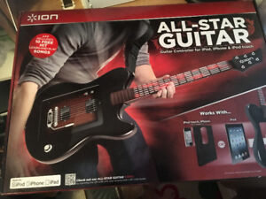 Guitar ALL STAR,neuf+boite original For Ipad,tablette,ipod touch