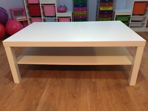 IKEA White Lack Coffee Table