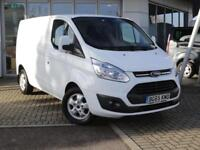 2015 Ford Transit Custom 290 SWB 2.2 Tdci Limited 125PS Diesel white Manual