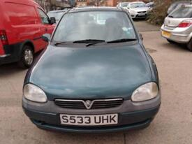 Vauxhall Corsa 1.4 LS 3 DOOR - 1998 S-REG - 8 MONTHS MOT