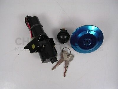 3 PIN IGNITION SWITCH FUEL GAS CAP SEAT LOCK KEY SET FOR <em>YAMAHA</em> YBR125