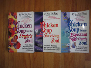 3 Chicken Soup Books- $3 for all!