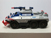 Captain America Strikefire Transport and figure