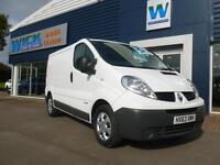 2013 Renault TRAFIC SL29 DCI S/R 115ps Van Manual Medium Van