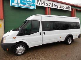 Ford Transit 135ps, 17st Minibus.Very Low Miles