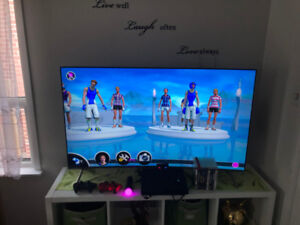 PS 3 + 2 Controlers + PS Move + Eye Camera + 9 Games