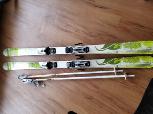 Rossinol Skis and Poles