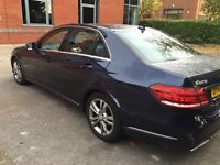 Mercedes E220cdi bluetech & Toyota Prius PCO Hire Uber Approved Chauffeur Hire TFL From £200 p/w