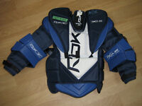 plastron , reebok , x pulse 6.0 , extra large junior