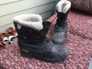 Winter Work Boots Size 10 Used
