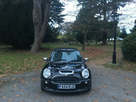 2004/54 Mini 1.6 Cooper S (Chilli) 2 Door Convertible Black(FINANCE AVAILABLE)