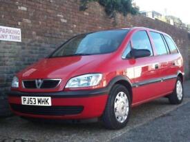 Vauxhall/Opel Zafira 1.6i 16v Club 2003(53) 7 Seat MPV